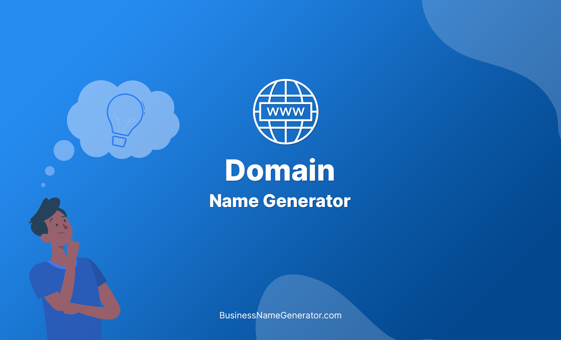 Domain Name Generator + Instant Availability Check!